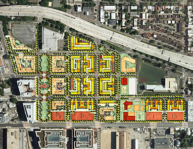 Lessard Design Capitol Quarter – Planning