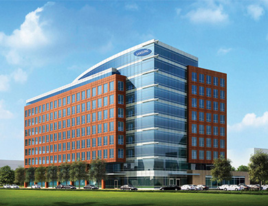 Lessard Design Englewood Samsung Office Park