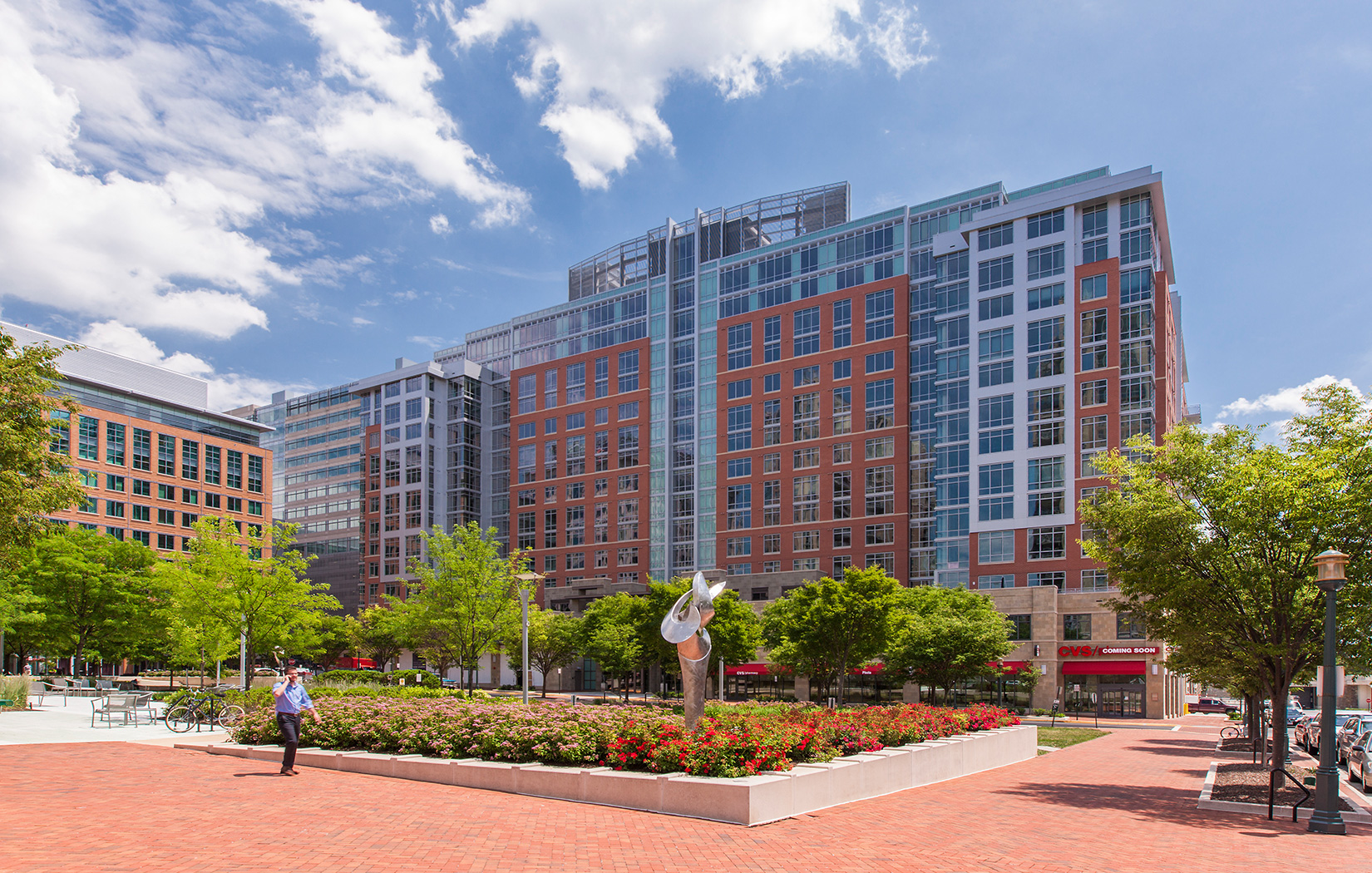 Lessard Design The Avant at Reston Town Center