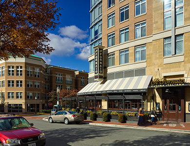 Lessard Design Midtown Towers at Reston Town Center – Retail
