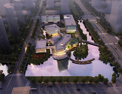 Lessard Design Nanjing West Comprehensive Center