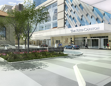 Lessard Design Ritz-Carlton Stamford Mixed-Use