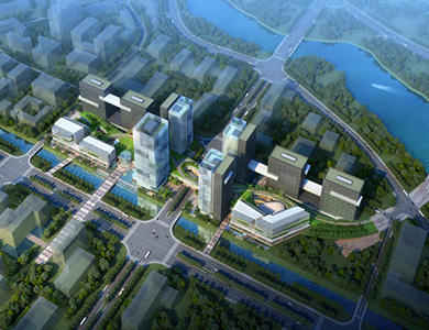 Nanjing Zijin (Baixia District) Technology Entrepreneurship Community Core Area